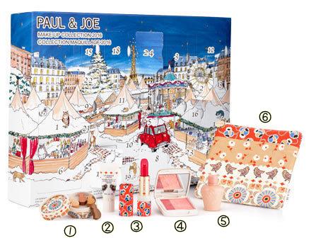 ポール&ジョー クリスマスコフレ 2016