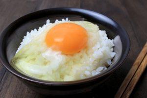 いかなごのくぎ煮 アレンジ 卵かけご飯