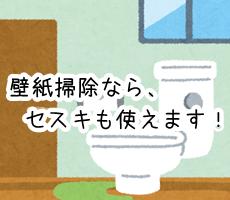 セスキ炭酸ソーダ トイレ 壁紙